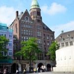 Around the Dam Square in Amsterdam — Stock Photo #59758639