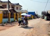Transportation in Myanmar — 图库照片
