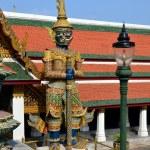 Guardian of Buddhist teaching in Royal Palace of Bangkok, Thailand — Stock Photo #60692615