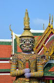 Guardian of Buddhist teaching in Royal Palace of Bangkok, Thailand — ストック写真