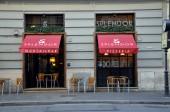 Pizzeria and cocktail bar Splendor — Stock Photo
