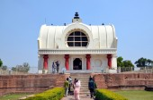 Parinirvana temple, Kushinagar, India — Stock Photo