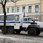 Police truck (Prisoner transport vehicle) — Stock Photo #66237835