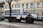 Police truck (Prisoner transport vehicle) — Stock Photo