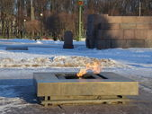 Eternal flame — Stock Photo