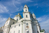 One of temples Pochayiv Lavra — Stock Photo