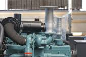 Air Cooling System of Generator — Stock Photo