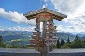 Alpine Directions — Stock Photo