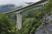 High Alpine Bridge — Stock Photo