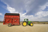 Agricultural Technics at Cotton Harvest — Stockfoto