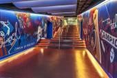 Tunnel di Fc Barcellona — Foto Stock
