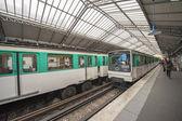 Em Paris no subsolo — Fotografia Stock