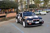The oldest rally in spain, 63 Rally Costa Brava. Sporting Rally Champ. Lloret de Mar - Girona. — Zdjęcie stockowe