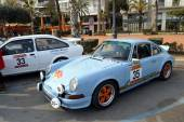 The oldest rally in spain, 63 Rally Costa Brava. Sporting Rally Champ. Lloret de Mar - Girona. — 图库照片