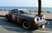 The oldest rally in spain, 63 Rally Costa Brava. Sporting Rally Champ. Lloret de Mar - Girona. — Stock Photo