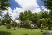 Dinosaur Museum — Stock Photo