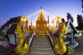 Wat Phra That Doi Kham. — ストック写真
