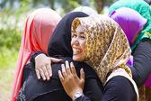 Muslim Students — Stock Photo