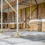 Fire wood storage — Stock Photo #67785747
