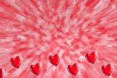 Valentines serca — Zdjęcie stockowe