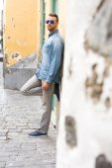 Urban man in the street — Stock Photo