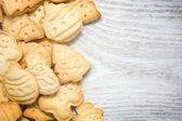 木のクリスマス クッキー — ストック写真