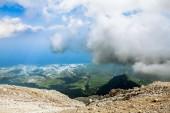 Panorama from Mount Tahtali, Turkey, Kemer — Stock Photo