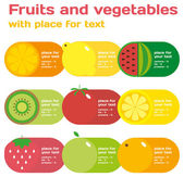 Fresh juice and vegetables infographics. — Stock Vector