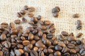 Macro of coffee — Stock Photo