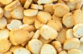 Croutons of bread — Stock Photo