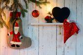 Noel ve yılbaşı süsleri — Stok fotoğraf