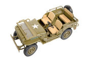 Military vehicle toy — ストック写真