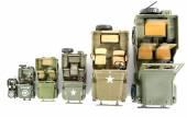 Military vehicles toys — Stockfoto