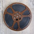 Old movie film reel 16mm — Stock Photo #59537263