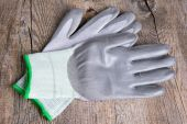 Protective gloves for work — Stock Photo