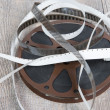 Old movie film reel 16mm — Stock Photo #62670761