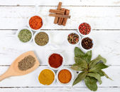 Assortment of Indian spices — Stock Photo