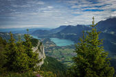 View of Lake Annecy in the French Alps — Stock Photo