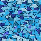Patrón de fondo transparente con triángulos — Vector de stock
