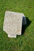 A shard of stone slabs — Foto de Stock