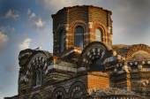 Church Pantocrator Christos in Nessebar from the 13th century in Bulgaria — Stock Photo
