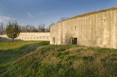 Medjit Tabia one old fortification stronghold near Silistra — Stock Photo