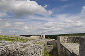 Ancient Ruins Of A Medieval Fortress Close To The Town Of Shumen, Bulgaria — ストック写真