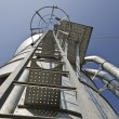 Personal perspective to the Safety metal ladder — Stock Photo #70723727