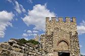 Main gate of Tsarevets fortress, Veliko Tarnovo, Bulgaria — Stock Photo
