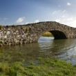Old Hump Back Bridge, Aberffraw, Anglesey. — Stock Photo #63826709