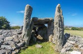 Trefignath ancient burial chamber, Neolithic Cambered Tomb, Angl — Stock Photo