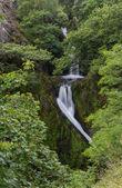 Llanberis Falls, Ceunant Mawr Waterfall — Stock Photo