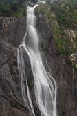 Aber Falls, Severní Rhaeadr Fawr, Conwy, Wales. — Stock fotografie