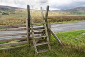Ladder Stile style, North Wales — Stock Photo